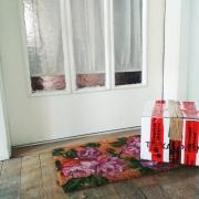 Paket vor Haustür