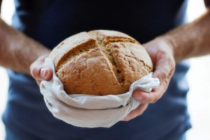 Brot im Beutel